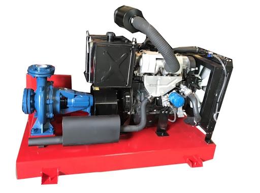 Tìm hiểu về máy bơm nước diesel Hyundai d4bb