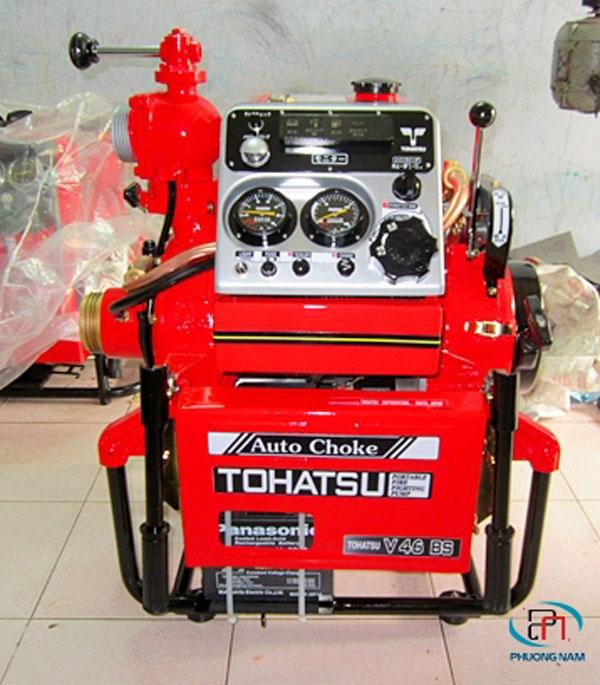 Những thông tin về máy bơm cứu hỏa Tohatsu: Đặc điểm - Cách vận hành