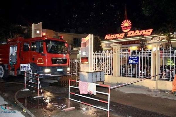 Toàn cảnh về đám cháy tại nhà máy phích nước Rạng Đông