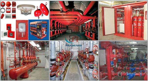 Lắp đặt thi công phòng cháy chữa cháy tại Hà Nội - PCCC An Tâm