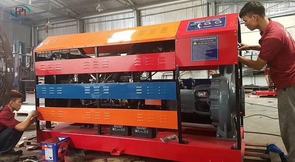 Đặc điểm và cách vận hành máy bơm chữa cháy chạy dầu diesel