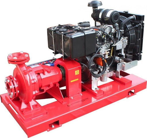 Những thông tin cần biết về máy bơm chữa cháy diesel Iveco