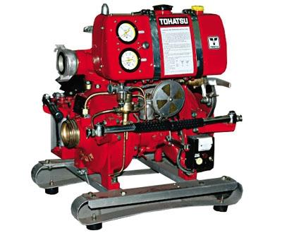 Những thông tin cần biết về máy bơm chữa cháy Tohatsu v30as