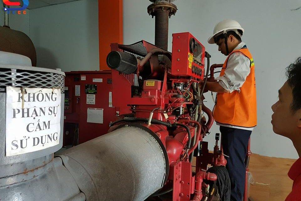 Những điều cần biết khi kiểm tra, sửa chữa máy bơm Diesel