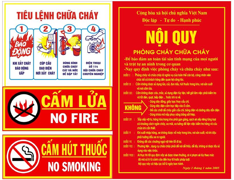 Tiêu lệnh phòng cháy chữa cháy là gì? Mọi công dân đều cần nắm rõ