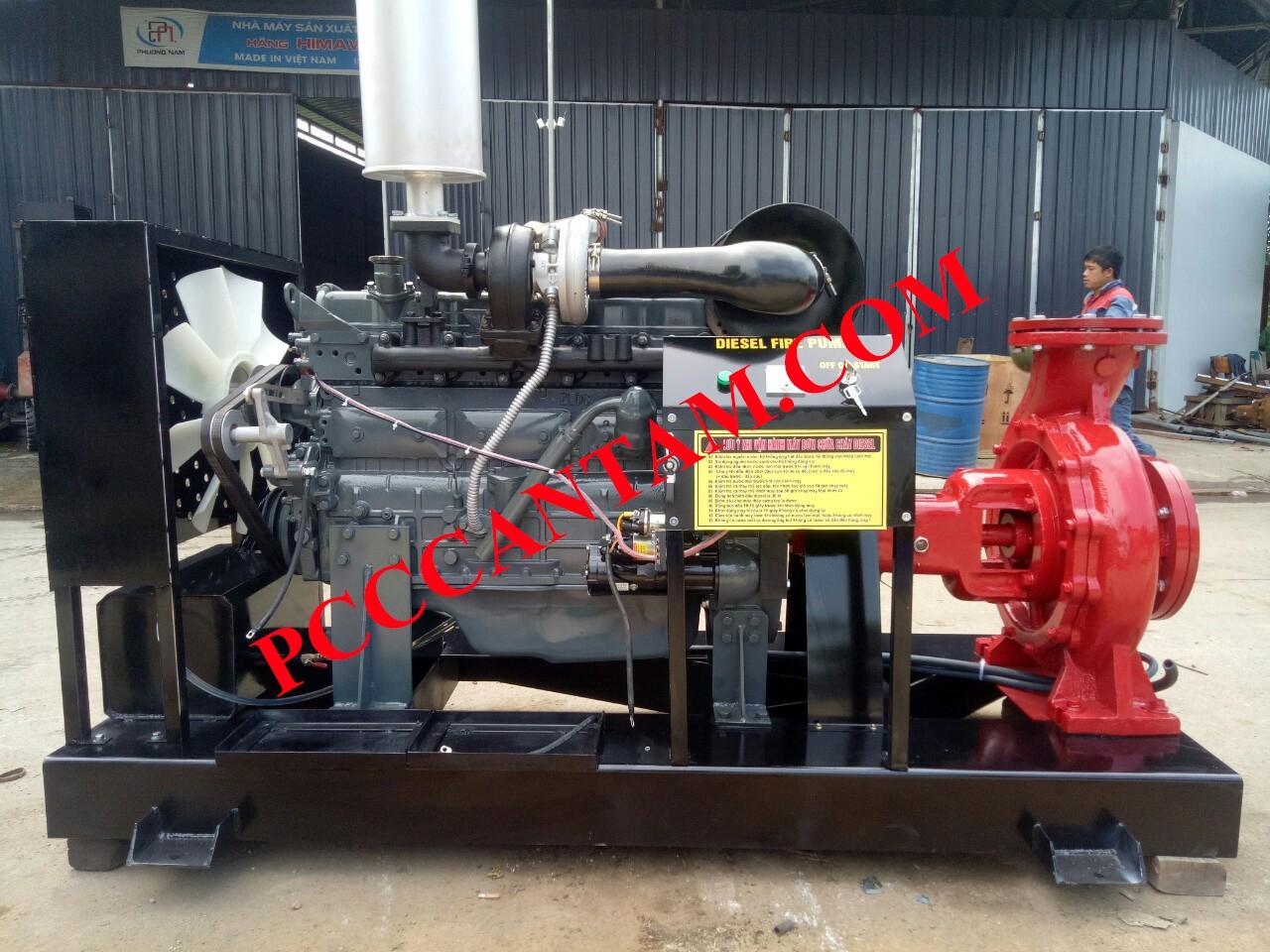 An tâm chọn mua máy bơm chữa cháy diesel tại Thái Nguyên chất lượng