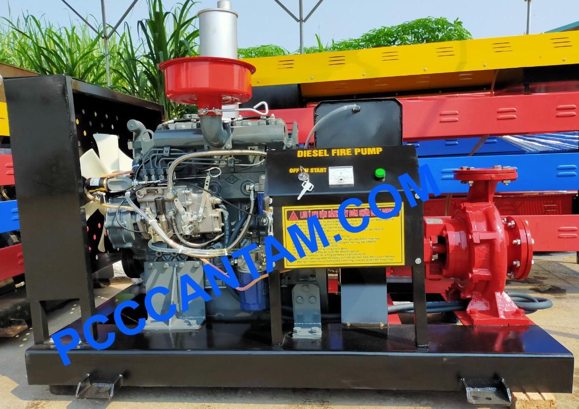 Máy bơm Diesel Himawari 37kw