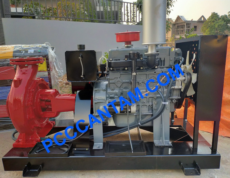Máy bơm Diesel Himawari 55kw