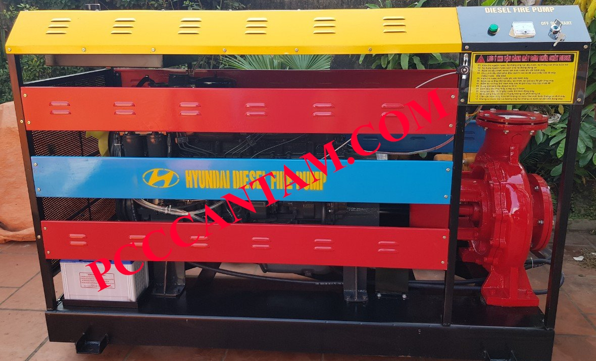 Máy bơm Diesel Himawari 7.5kw
