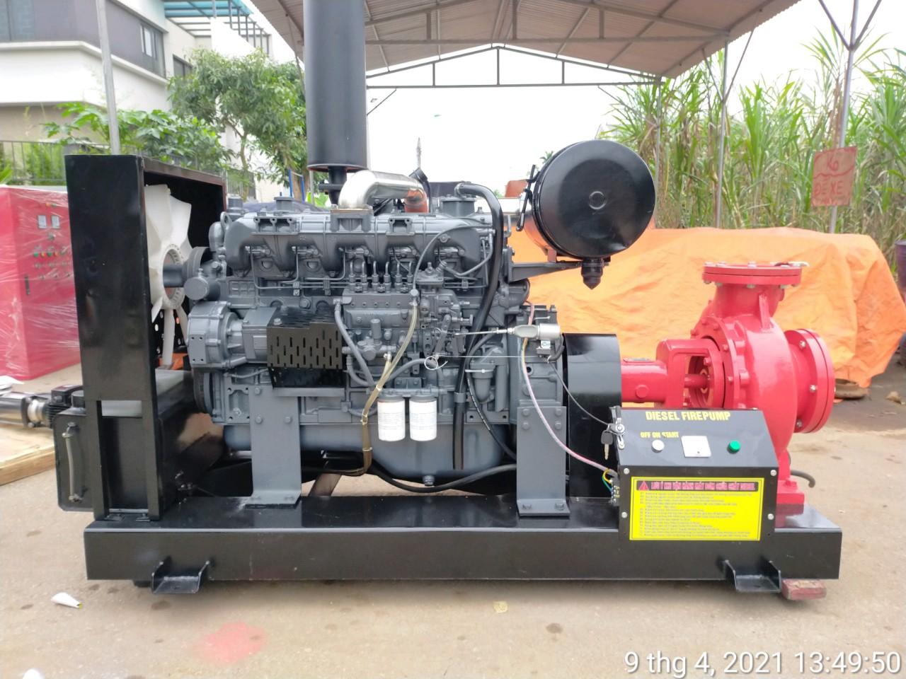Máy bơm Diesel Himawari 5.5kw